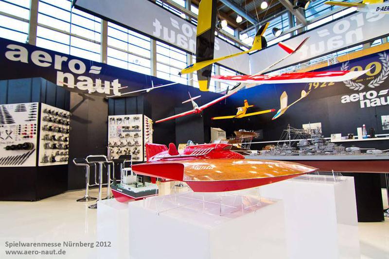 Messestand aero-naut Modellbau GmbH & Co. KG