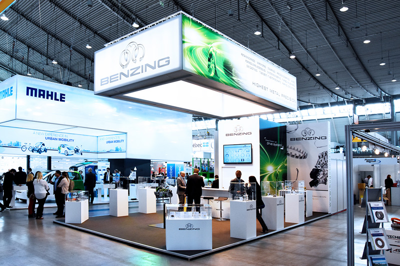 Messestand Hugo Benzing GmbH & Co. KG