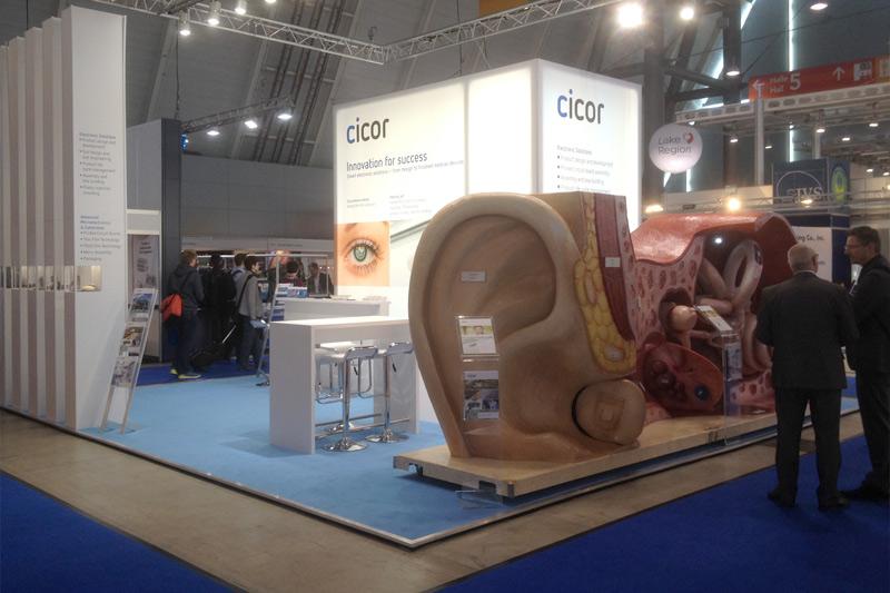 Messestand Cicor Management AG