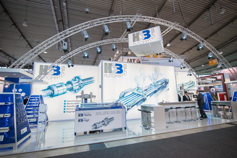 Messestand HSB Automation