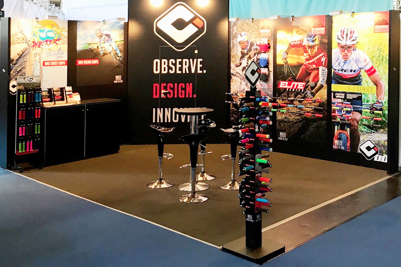 Messestand The ODI Grips Group