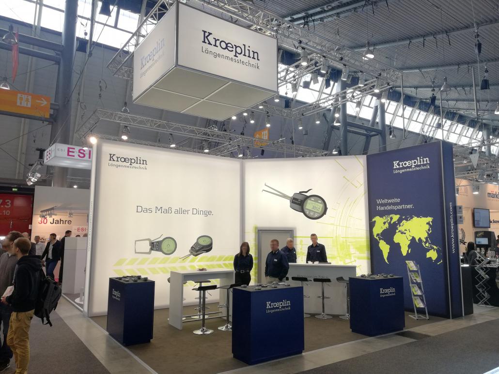 Messestand Kroeplin GmbH