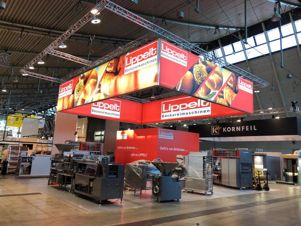 Messestand Lippelt W. GmbH & Co.KG