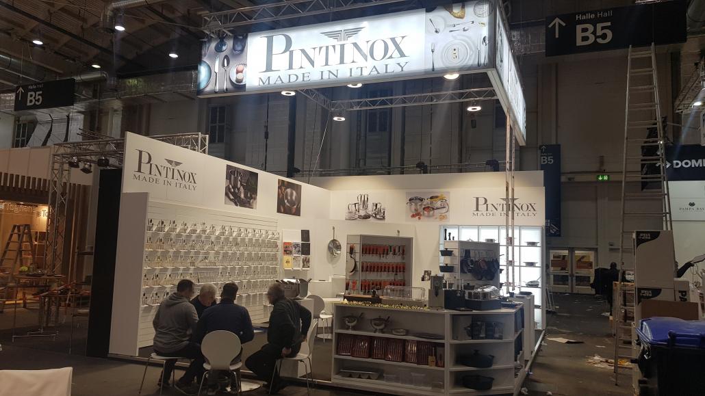 Messestand Pinti Inox GmbH